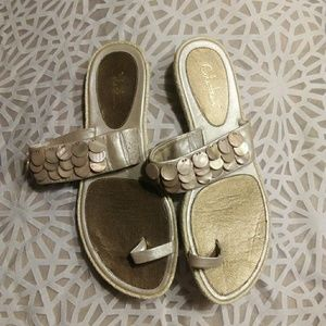 Cole Haan shell sandals